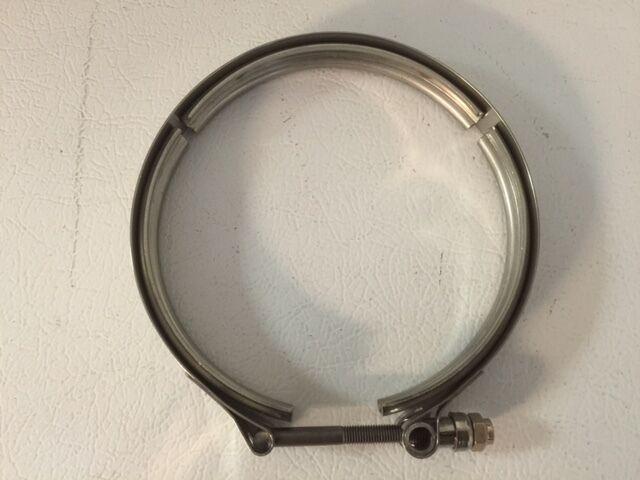 """Garrett V-band Clamp 5"""" Stainless Steel For Undivided T6 Gt47/gt55/gtx47/gtx55"""