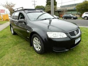 2011 Holden Commodore VE II MY12 Omega Sportwagon Black 6 Speed Sports Automatic Wagon
