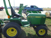 Reduced by $660! John Deere 755 Compact Tractor