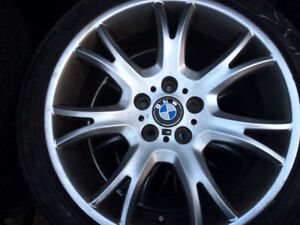 """STAGGERED 19"""" BMW alloy wheels...set of four"""