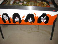 I Want to Buy: KISS 1979 Bally Pinball Machine in working order.