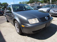 2003 Volkswagen Jetta Sedan ONE TAX ONLY!