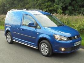 2014(14) VOLKSWAGEN CADDY C20 HIGHLINE BLUE-MOTION, RAVEN BLUE, FINANCE??