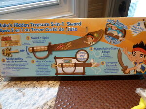 Fisher-Price Jake & the Never Land Pirates Magical Sword
