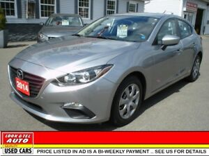 2014 Mazda Mazda3 $14995.00 with $2 K Down or Trade-in* sport