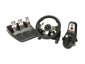 Logitech g27 steering wheel with pedals.  PC/Xbox1/PS4