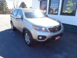 2013 Kia Sorento EX Luxury for only $169 bi-weekly all in!