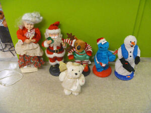 Today's Special: Musical Christmas Figures $5 Each