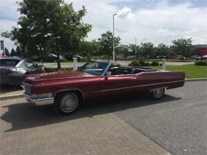 1969 Cadillac Convertible $15,000 / Trades welcome