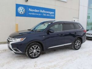2017 Mitsubishi Outlander GT 4WC - LEATHER / HEATED WHEEL / SUNR