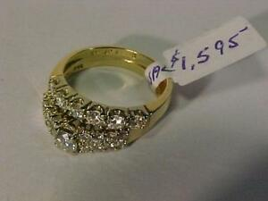#3235-STUNNING **BIRKS**WEDDING SET-APPRAISED $5,875.00 SELL $1,595.00-1.24 carat Diamonds-See Appraisal for details