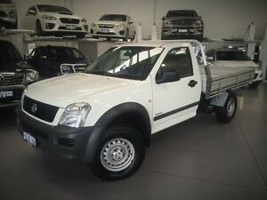 2005 Holden Rodeo RA MY05 DX White 5 Speed Manual Cab Chassis Cannington Canning Area Preview