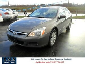 2006 Honda Accord Sdn EX V6 Kitchener / Waterloo Kitchener Area image 1