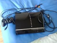 PS3 FOR SALE AT GREAT PRICE WITH 10 GAMES