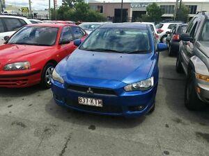 2008 Mitsubishi Lancer CJ ES Blue 6 Speed CVT Auto Sequential Sedan Coopers Plains Brisbane South West Preview