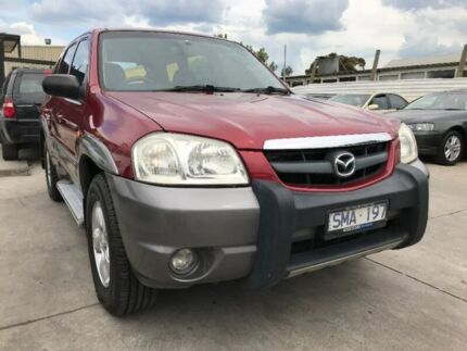 2003 Mazda Tribute MY2003 Luxury Red 4 Speed Automatic Wagon Maidstone Maribyrnong Area Preview