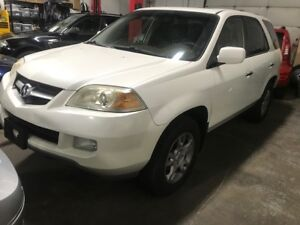 2005 ACURA MDX TOURING AWD NAVIGATION DVD BACK UP CAMERA LEATHER
