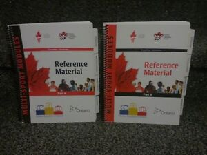 NCCP Coaching reference manuals A and B Like new