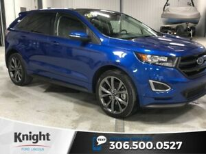 2018 Ford Edge Sport, Auto, AWD, Leather, Sunroof, Navi, Low KM!