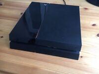 PS4 Black, 1 controller