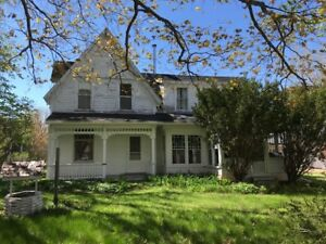 Vintage Victorian House for Sale - Bayfield New Brunswick