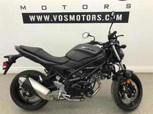 2018 Suzuki SV650AL8 - V3033 - No Payments for 1 Year**