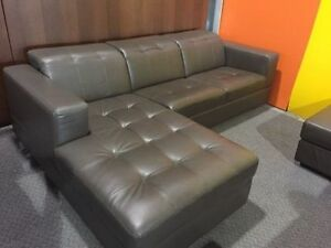 2PCS BONDED LEATHER SECTIONAL WITH ADJUSTABLE HEAD REST $899 Kitchener / Waterloo Kitchener Area image 1