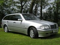 Mercedes-Benz C240 Elegance Estate, 2.4 V6 petrol, 1999, CAT C light damaged/repairable