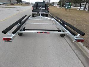 Pontoon Boat Trailer - 1700lb capacity up to 19 ft.