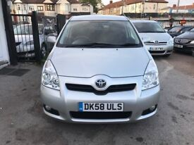 2009 TOYOTA VERSO 18 VVT-I SR MMT MPV, AUTOMATIC, LOW MILEAGE, 7SEATER, HPI CLEAR