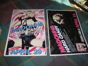 MADONNA-hard-candy-1-POSTER-2-SIDED-11X17-NMINT-RARE