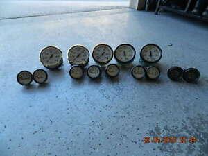 Various boat gauges
