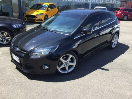 2011 Ford Focus Black Sports Automatic Dual Clutch Hatchback Traralgon Latrobe Valley Preview