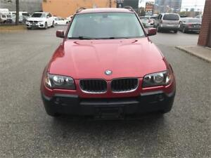 2006 BMW X3 2.5i AWD ALLOYS PANO ACCIDENTFREE ONLY 154K!