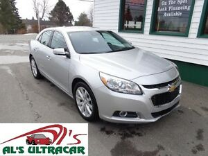 2016 Chevrolet Malibu Limited LTZ only $155 bi-weekly all in!