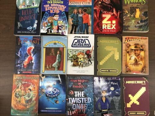 Big Lot of 70 Teenager chapter books series young adult random Great Gift Sparks