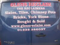 Staffordshire Blue roof tiles Handmade and Machine Made