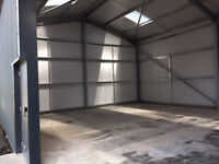 Unit/s to let, 2200/1100FTSQ, fully insulated, electric up and over doors, personnel door, toilet