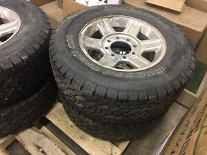 265 70R17 dodge 3/4 or 1 ton factory rims and tires
