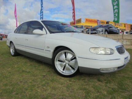 2003 Holden Statesman WH II White 4 Speed Automatic Sedan