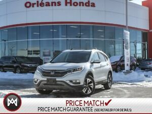 2015 Honda CR-V Touring-HONDA CERTIFIED 7YR 160,000KM WARRANTY