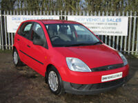 FORD FIESTA 1.4 TDCi LX A/C 2002 (52) ONE OWNER FSH 15 STAMPS / 65MPG / £30 RFL!
