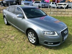 2010 Audi A6 4F MY10 Multitronic Silver 1 Speed Constant Variable Sedan Wangara Wanneroo Area Preview