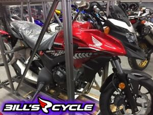 2017 HONDA On Road CB 500 XASH    Adventure Abs Red Metallic