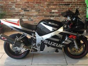 2003 Suzuki GSXR 600 Black
