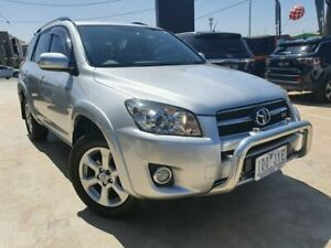 2011 Toyota RAV4 GSA33R MY11 SX6 Silver 5 Speed Automatic Wagon Hoppers Crossing Wyndham Area Preview