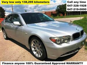 2004 BMW 7 Series 745i FINANCE 100% APPROVED WARRANTY 138,395 km