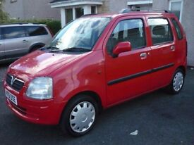 2001 VAUXHALL AGILA 1.2 MOT FEB 2017, 1 OWNER FROM NEW WITH FULL VAUXHALL SERVICE HISTORY