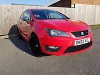 SEAT IBIZA 1.6 CR TDI FR 3DR (red) 2012