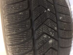 4 Winter Tires and Rim (Used) R255/55 r18 St. John's Newfoundland image 2